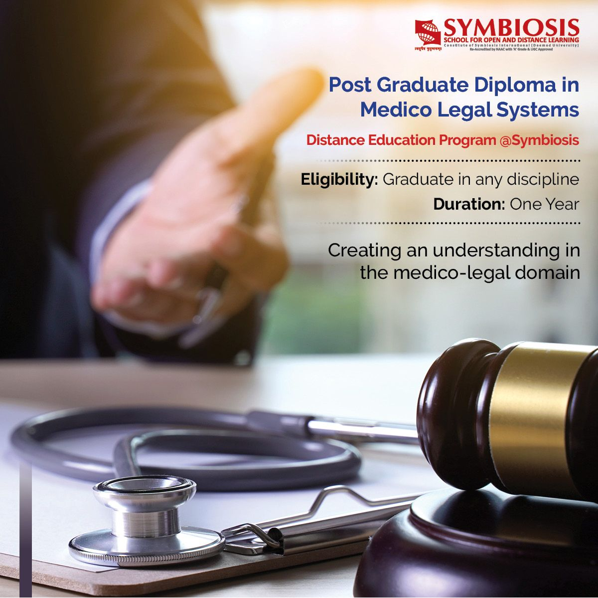 Medico legal systems learning courses distance learning