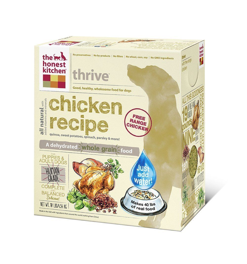 The Honest Kitchen Thrive Dehydrated Dog Food (10 lb