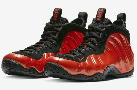7e3fe691524 Official Images  Nike Air Foamposite One Habanero Red The Nike Air  Foamposite One Habanero Red
