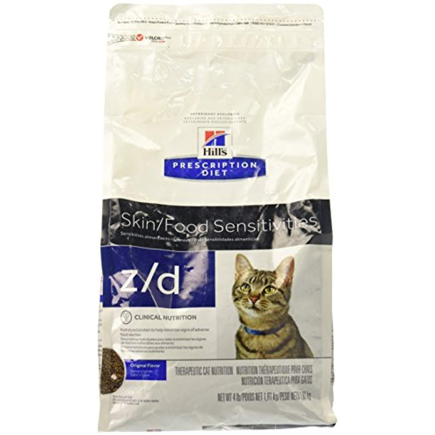Hills Z/D Low Allergen Cat Food 4 lb * Continue to the
