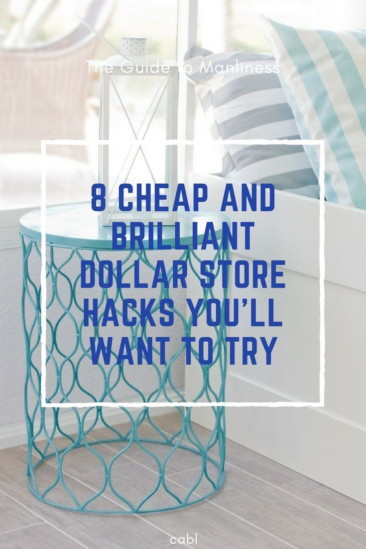 8 Cheap And Brilliant Dollar Store Hacks You\'ll Want To Try   Dollar ...