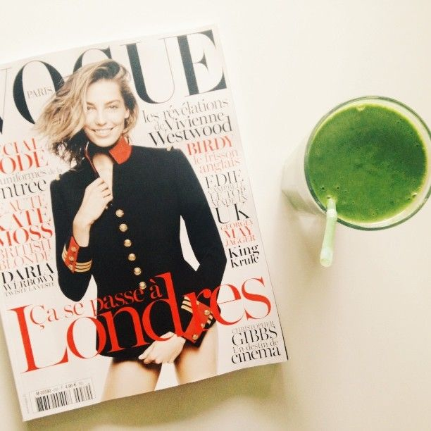 #vegan #greensmoothie #smoothie #vogue #vscocam