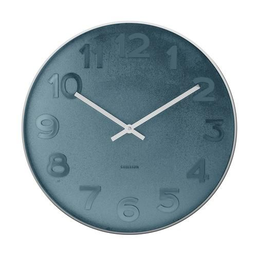 Karlsson Uhren karlsson mr blue wanduhr ø 51 cm jetzt bestellen unter https