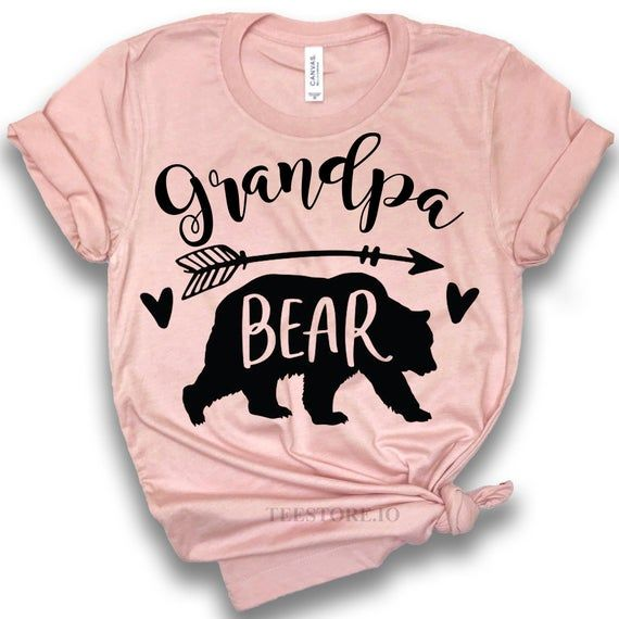 Grandpa Bear Shirt - Grandpa To Be Shirts - Grandpa Shirt - Grandpa Gifts - Gift For Grandpa Shirts #grandpagifts
