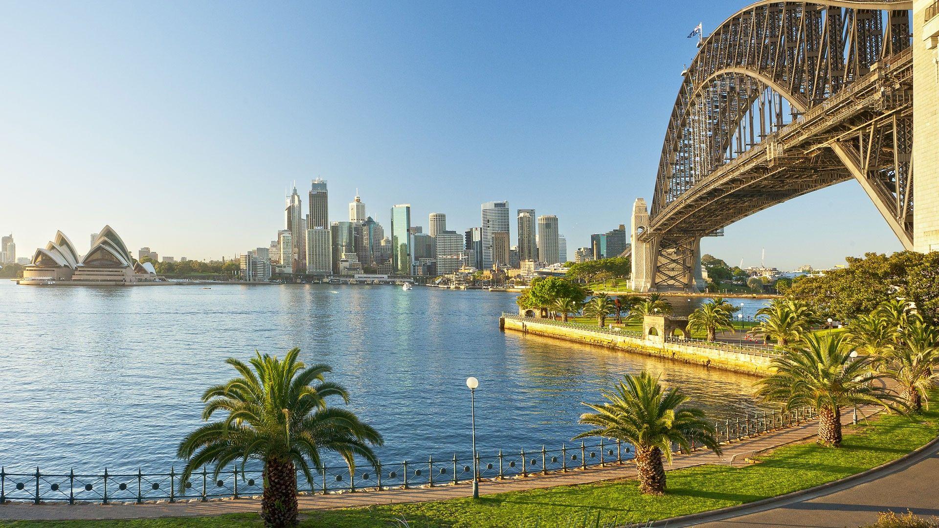 Новая зеландия Hd: Sydney Harbour Bridge Australia Wallpaper