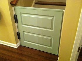 How To Create A Dutch Door Half Door Baby Or Dog Gate The