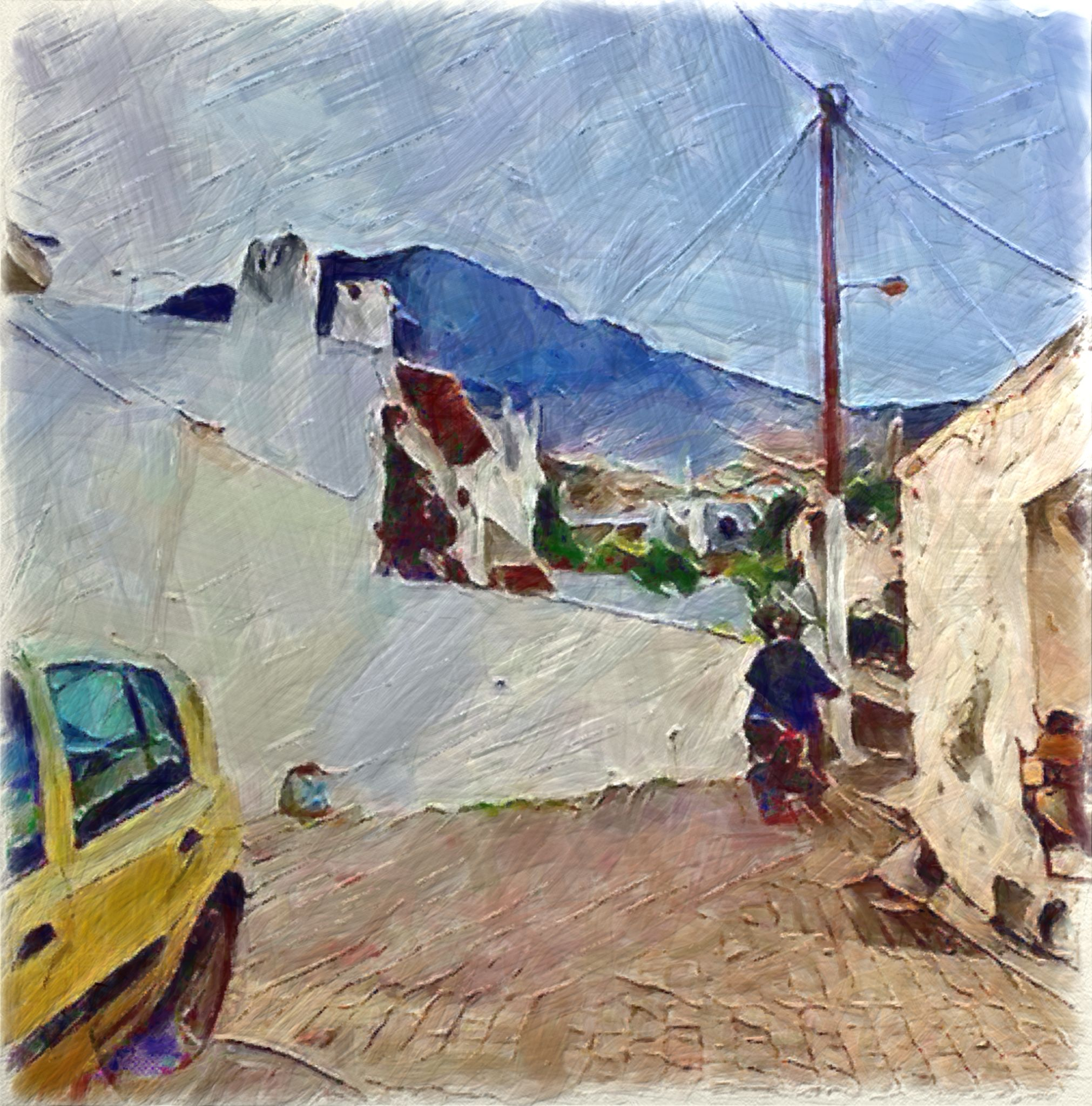 Alley Pathway (5th May 2019)   Old art, New art, New artists