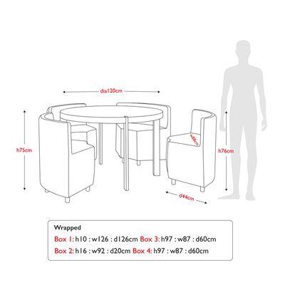 28++ Rotunda dining table set Ideas