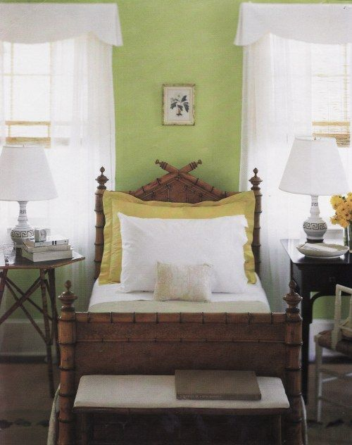 Faux Bamboo Bed Martha