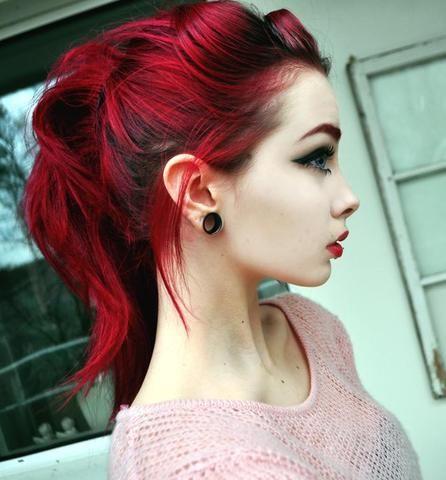 rote Haare Sängerin weiblich