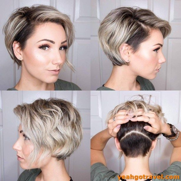 39 Modern Hair Color For Pixie And Bob Short Hairc
