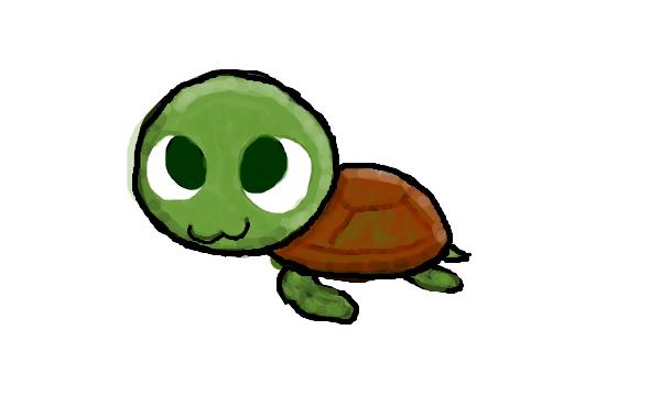 Cartoon Sea Turtle Sea Turtle In Cartoons Clipart Image 41054 Turtle Drawing Cute Cartoon Drawings Cute Turtle Cartoon