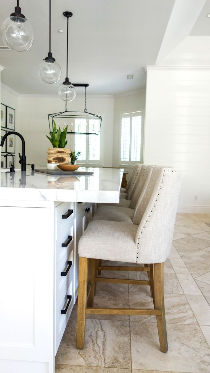 Before and After: Olympic Way Project | Calcutta marble backsplash ...