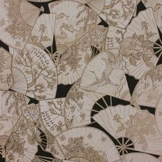 0745e95ee96 Papier peint - Matthew Williamson - Fanfare - Noir