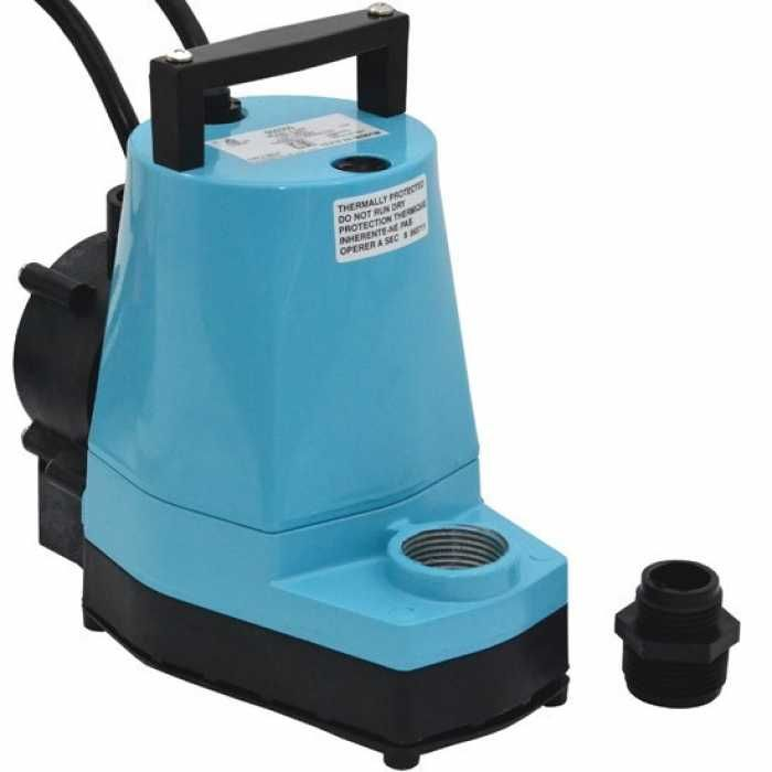 Automatic Submersible Utility Sump Pump W Piggyback Diaphragm Switch 10 Cord 1 6hp 115v Sump Pump Utility Pumps Sump