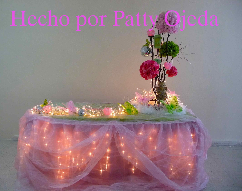 Decoracion de mesas para fiestas de cumplea os buscar - Mesa cumpleanos adulto ...