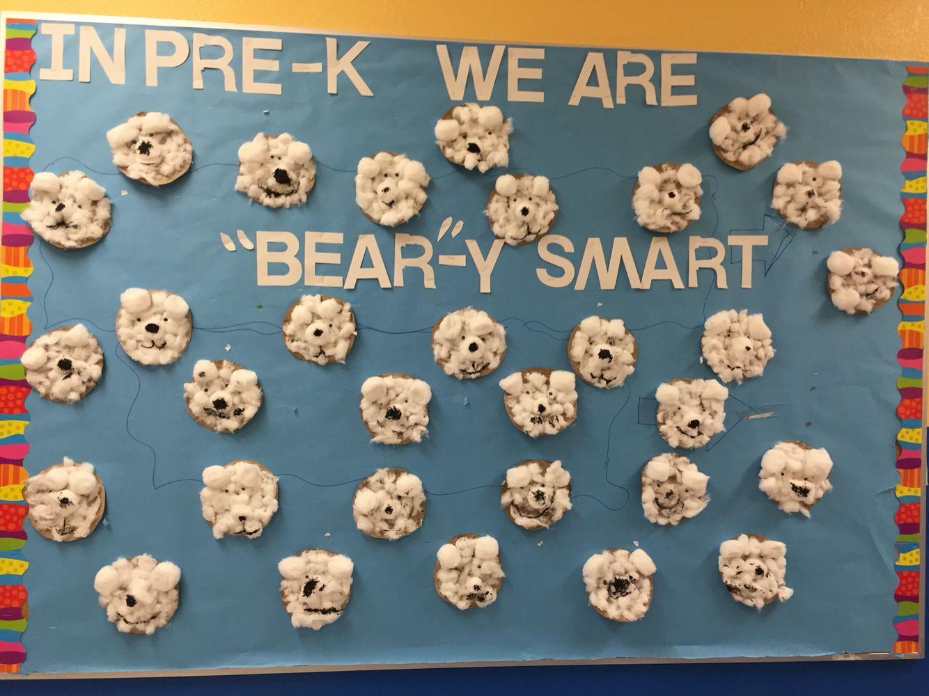 Arctic Animal Polar Bears Bulletin Board For Pre K