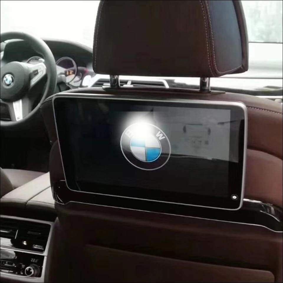 Bmw Car Headrest Monitor Set In 2021 Bmw Travel Electronics Rear Seat