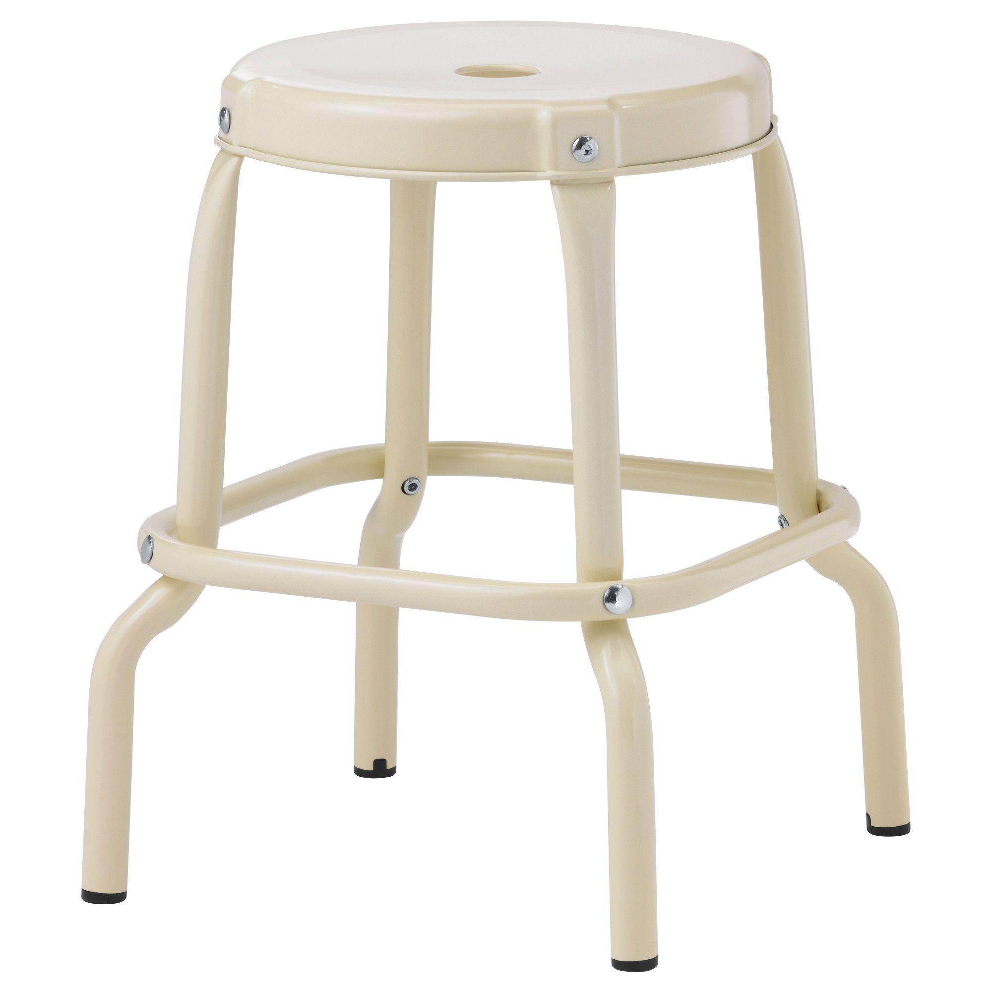 RÅSKOG Stool, beige | Hocker, Küche esszimmer und Stuhl