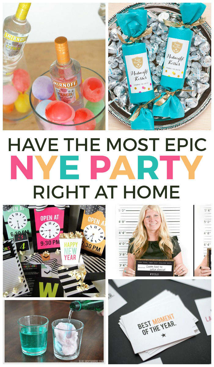 20 Ways To Have An Epic At Home New Years Eve Party | love ...