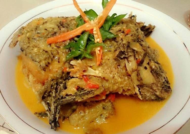 Resep Ikan Mujair Santan Pedas Oleh Meileni Intan Permata Sari Resep Resep Ikan Resep Makanan