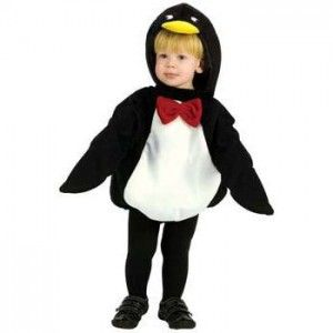 Penguin Animal Fancy Dress Costume White Suit Outfit Baby Girls Boys Christmas
