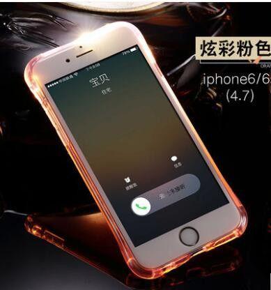 Calling LED Flash Light Anti Knock Silicone Luminous TPU Case for ... 8a27a3126