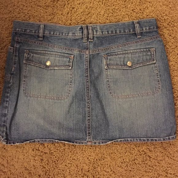 Old Navy denim mini size 14 Old Navy denim mini size 14 Old Navy Skirts Mini