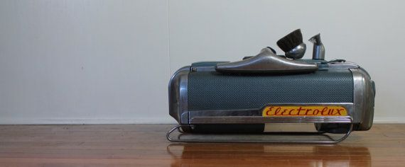Vintage 1950s Electrolux Vacuum LX With Attachments // by MyBarn