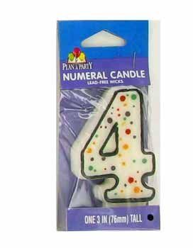 4th Birthday Candle Case Pack 24 By Bulk Buys