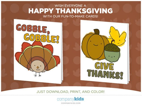 Free Downloadable Printable Thanksgiving Day Cards For Kids Classy Mommy Thanksgiving Printables Thanksgiving Cards Handmade Thanksgiving Cards Kids