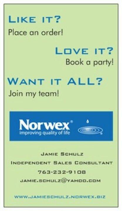 Check it out at jamieschulznorwexbiz! Norwex Pinterest - new vistaprint norwex