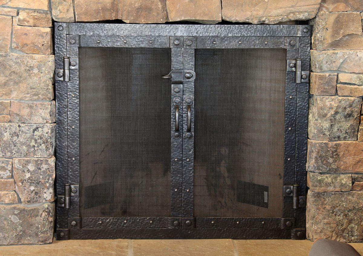 Fireplace Doors Stone Surround Fireplace Doors Fireplace Screens Modern Fireplace Screen