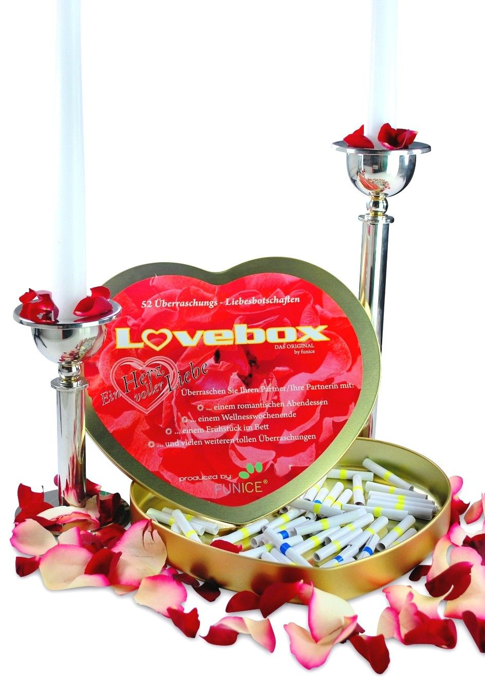 Liebesbox Lose Ideen.Liebesbox Mit 52 Losen Hochzeitsgeschenke Geldgeschenke