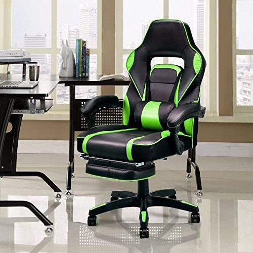 Marvelous Giantex Gaming Chair Racing Chair Ergonomic High Back With Ocoug Best Dining Table And Chair Ideas Images Ocougorg