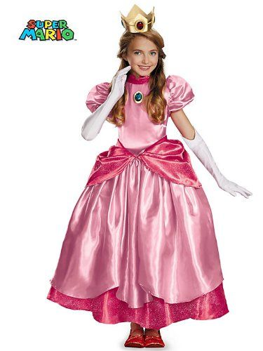 Disguise Nintendo Super Mario Brothers Princess Peach Prestige Girls Costume @ niftywarehouse.com  sc 1 st  Pinterest & Disguise Nintendo Super Mario Brothers Princess Peach Prestige Girls ...