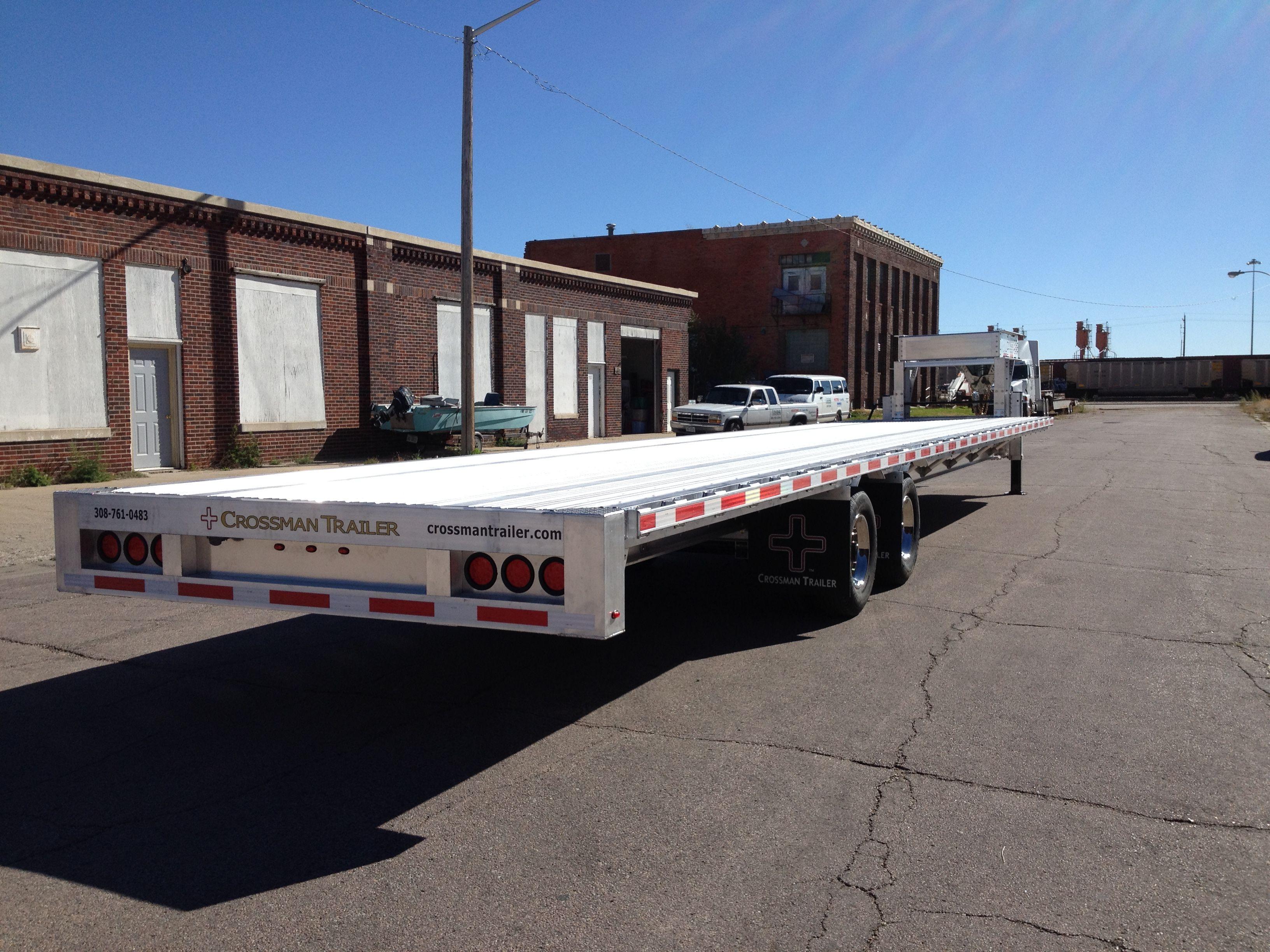 Crossman 40 foot gooseneck trailer  Premium aluminum