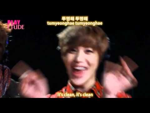 SHINee (샤이니) Etude Song Eng Sub + Han/ Rom.