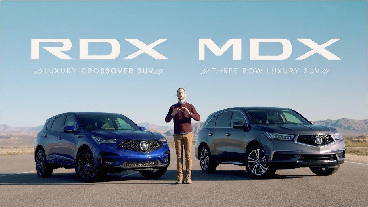 Acura Rdx 2019 Vs 2020