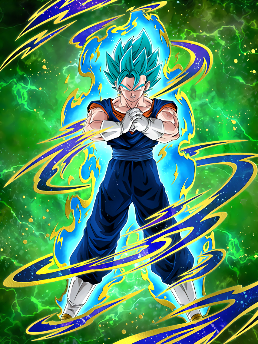 Azure Flash] SSGSS Vegito/Dragon Ball Z: Dokkan Battle
