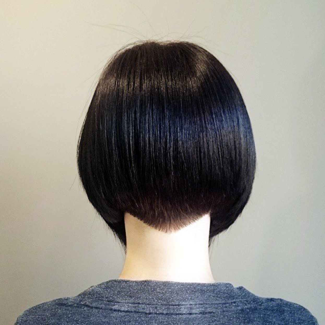 Bob From The Back Short Stacked Bob Hairstyles Short Black Haircuts Short Bob Hairstyles