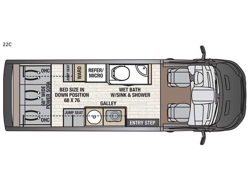 2020 coachmen beyond class b motorhome camper van