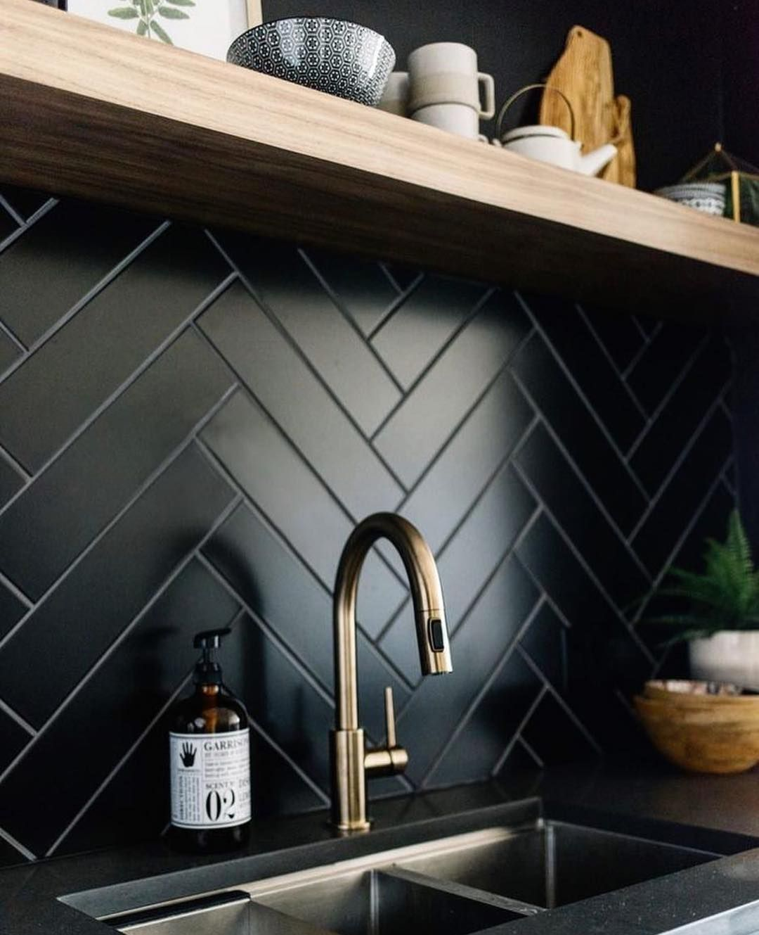 Pinterest Küchenrückwand Kitchens Of Instagram Kitchens Of Insta Loving This Black And