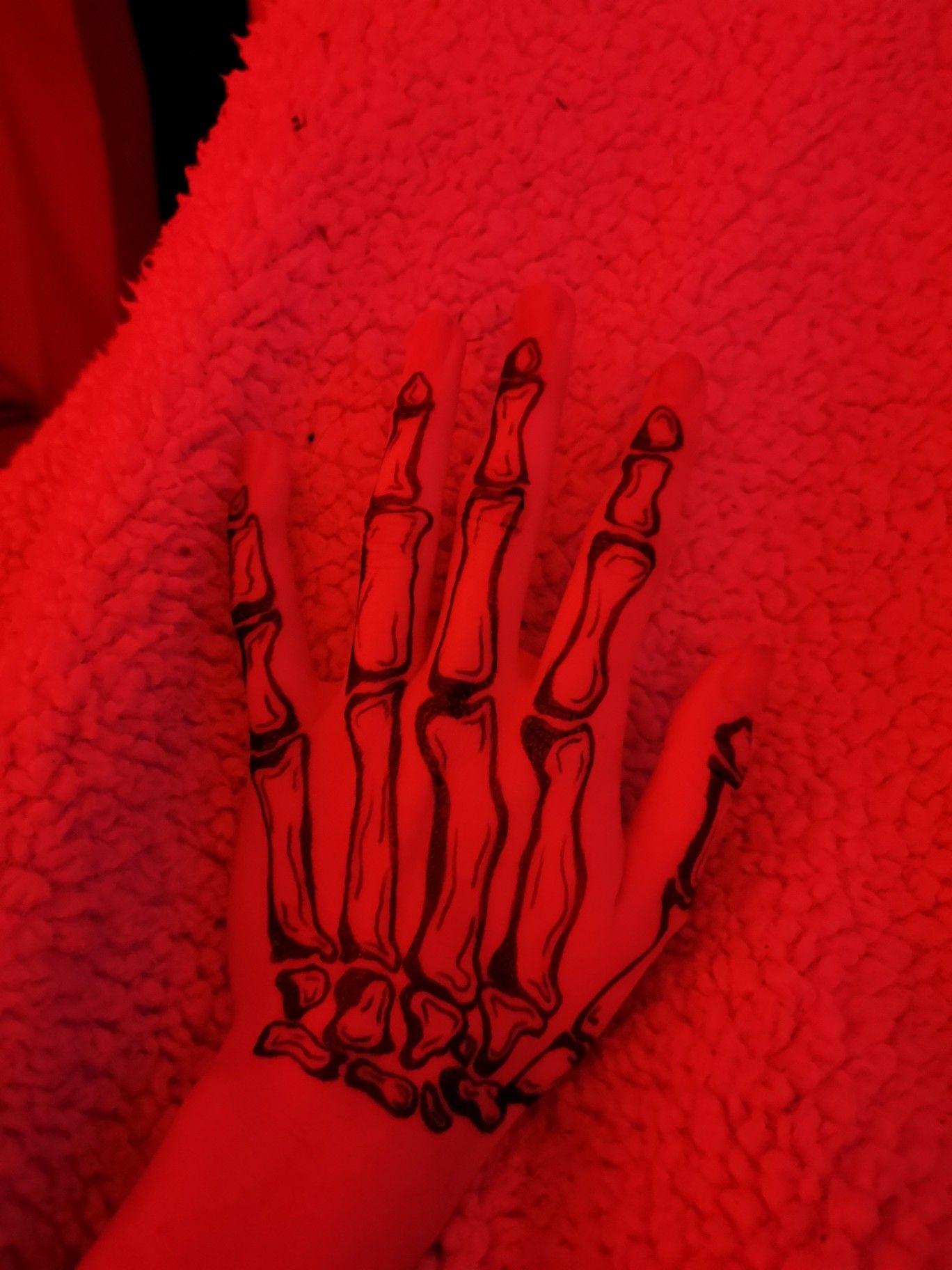 Photo of Skeleton Hand