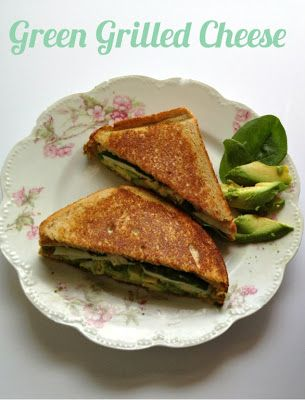 Green Grilled Cheese- A Divine Twist! - Pretty Providence