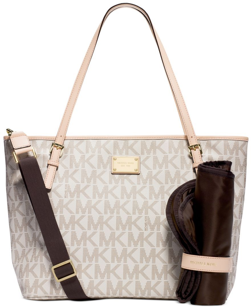 0784e8536ea41 Michael Michael Kors Jet Set Diaper Bag