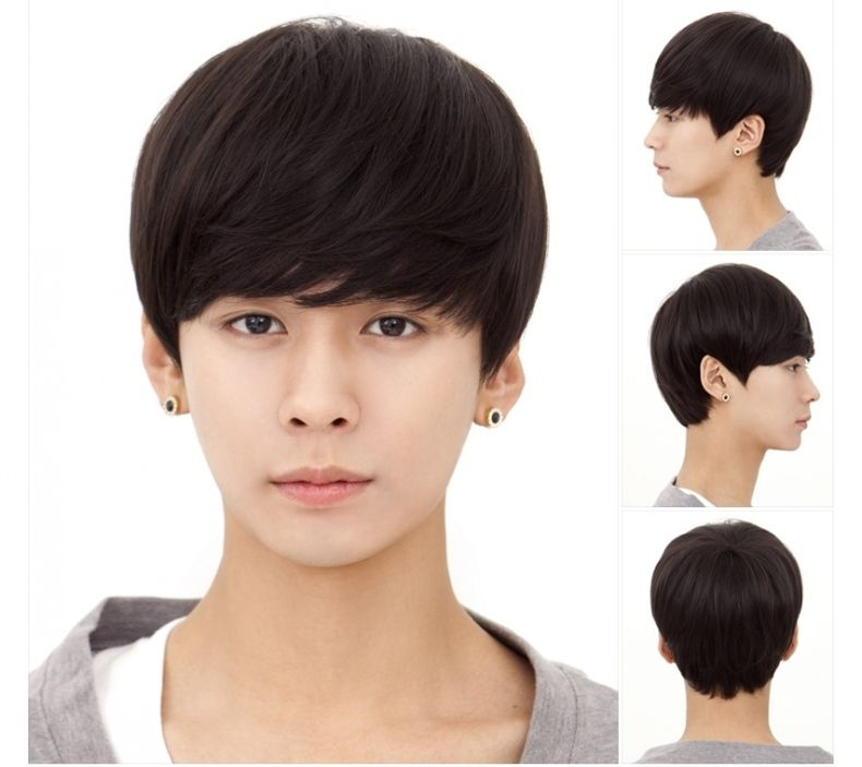 Final, asian male wig that