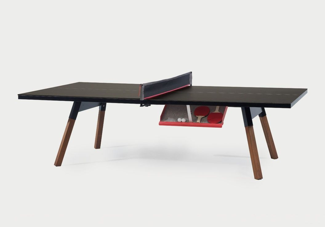 A Great Concept For Ping Pong Lovers A Designer Table That