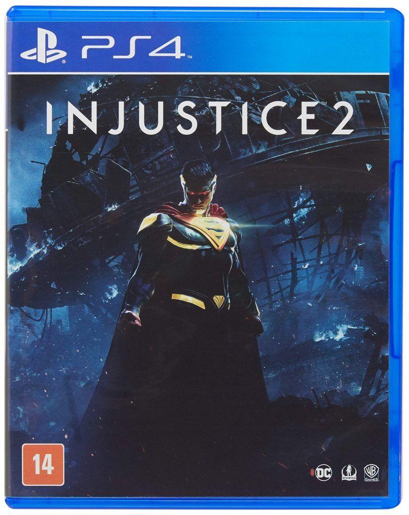 Injustice 2 Playstation 4 Injustice 2 Playstation Jogos De Video Game