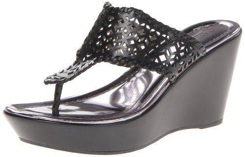 Carlos by Carlos Santana Women's Laclede Platform Sandal,Black,5.5 M US Carlos by Carlos Santana http://www.amazon.com/dp/B00FEM6OL8/ref=cm_sw_r_pi_dp_le2Qtb1QHQ6ZV451